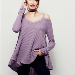NWT Free People Moonshine V-Neck Sweater